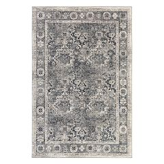 Mohawk® Home Studio Fair Point EverStrand Framed Floral Rug