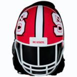 North Carolina State Wolfpack Helmet Hardshell Backpack