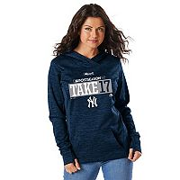 Women's Majestic New York Yankees 2017 MLB Playoffs Participant Hoodie