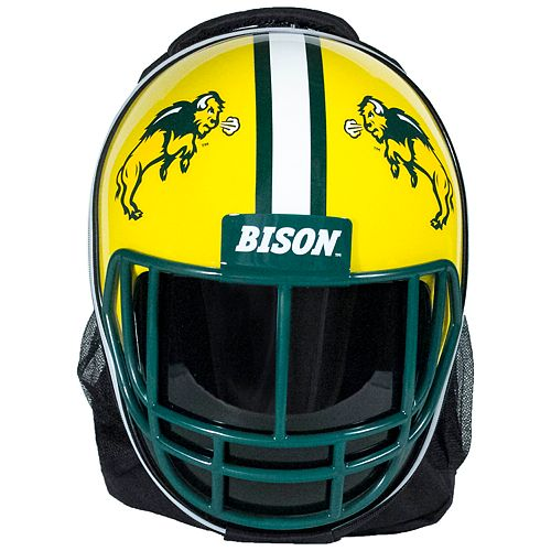 North Dakota State Bison Helmet Hardshell Backpack