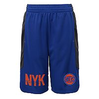 Boys 8-20 New York Knicks Jump Ball Shorts