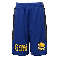 Boys 8-20 Golden State Warriors Jump Ball Shorts