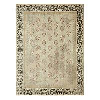 Mohawk® Home Studio Floret by Patina Vie EverStrand Framed Floral Rug