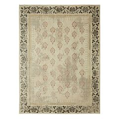 Mohawk® Home Studio Floret by Patina Vie EverStrand Framed Floral Rug