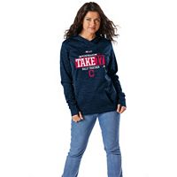 Women's Majestic Cleveland Indians 2017 MLB Playoffs Participant Hoodie