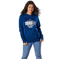 Women's Majestic Los Angeles Dodgers 2017 MLB Playoffs Participant Hoodie