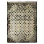 Mohawk® Home Studio Lakeside Cottage by Patina Vie EverStrand Framed Tile Rug