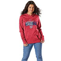 Women's Majestic Washington Nationals 2017 MLB Playoffs Participant Hoodie