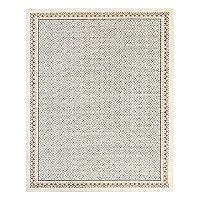 Mohawk® Home Studio Stardust EverStrand Framed Geometric Rug