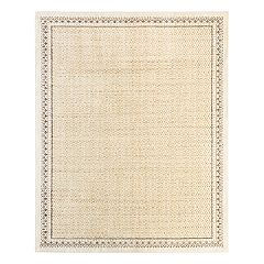 Mohawk® Home Studio Stardust EverStrand Framed Geometric Rug