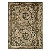 Mohawk® Home Studio Suzani Tapestry by Patina Vie EverStrand Framed Floral Rug