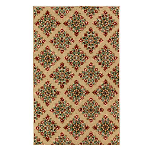 Mohawk® Home Woodbridge Berkane Wear-Dated Medallion Rug