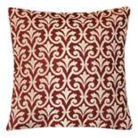 Spencer Home Decor Amber Damask Throw Pillow