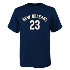 Boys 8-20 New Orleans Pelicans Anthony Davis Player Name & Number Replica Tee
