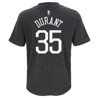Boys 8-20 Golden State Warriors Kevin Durant Player Name & Number Replica Tee