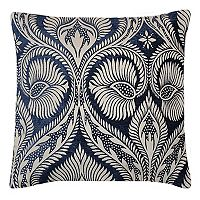 Spencer Home Decor Burma Floral Chenille Throw Pillow