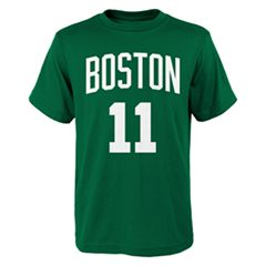 Boys 8-20 Boston Celtics Kyrie Irving Player Name & Number Replica Tee