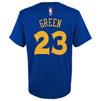 Boys 8-20 Golden State Warriors Draymond Green Player Name & Number Replica Tee