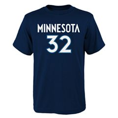 Boys 8-20 Minnesota Timberwolves Karl Towns Player Name & Number Replica Tee