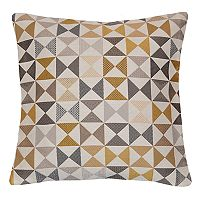 Spencer Home Decor Finial Geometric Throw Pillow