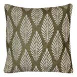 Spencer Home Decor Helene Leaf Throw Pillow
