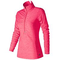 Women's New Balance Lace Up For The Cure Transit Half-Zip Pullover