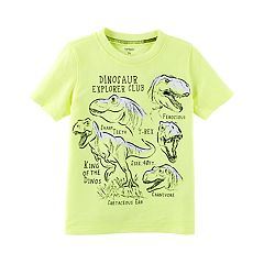 Toddler Boy Carter's 'Dinosaur Explorer Club' Graphic Tee