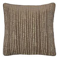 Spencer Home Decor Manuscript Striped Throw Pillow