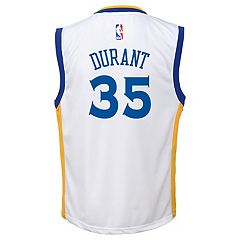 Boys 8-20 Golden State Warriors Kevin Durant Replica Jersey