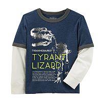 Boys 4-12 OshKosh B'gosh® Tyrant Lizard Dinosaur Ringer Tee