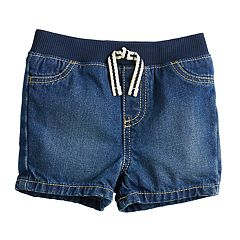 Baby Boy Jumping Beans® Pull-On Denim Shorts