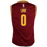 Boys 8-20 Cleveland Cavaliers Kevin Love Replica Jersey
