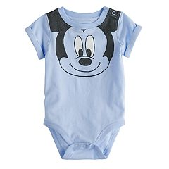 Disney's Mickey Mouse Baby Boy Smile Graphic Bodysuit by Jumping Beans®