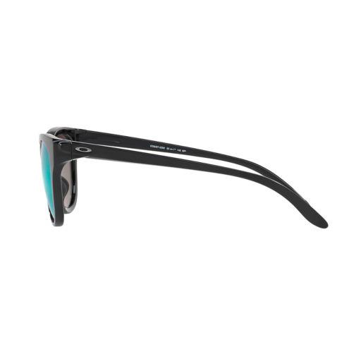 Oakley Hold Out OO9357 55mm Cat-Eye Violet Iridium Mirror Polarized Sunglasses