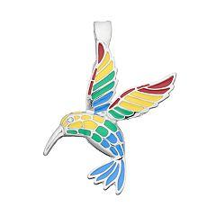 wearable ART Hummingbird Pendant