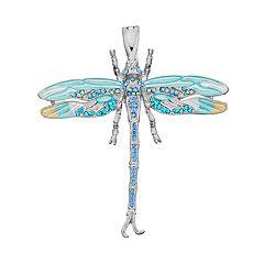 wearable ART Dragonfly Pendant