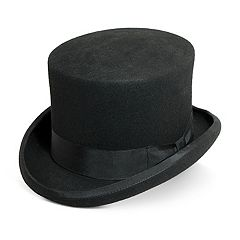 Men's Scala Wool Felt English Top Hat