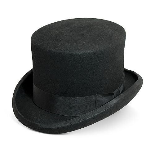 043057ec893 Men s Scala Wool Felt English Top Hat
