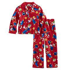 Boys 4-10 Super Mario Bros. 2 pc Pajama Set
