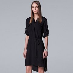 Women's Simply Vera Vera Wang Utility Shirtdress