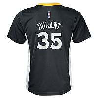 Boys 8-20 Golden State Warriors Kevin Durant Replica Alternate Jersey