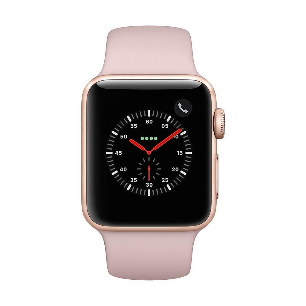 Apple Watch Series 3 Gps Cellular 38mm Gold Aluminum Case