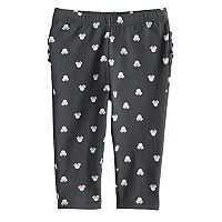 Disney's Minnie Mouse Baby Girl Glittery Print Ruffled Leggings by Jumping Beans®