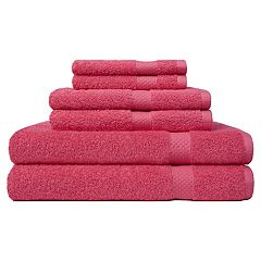 Carefree Comforts Ringspun 6 pc Bath Towel Set