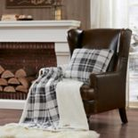 Woolrich Plush Plaid Berber Fleece Throw