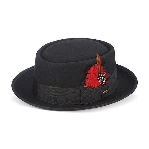 Men's Scala Wool Felt Porkpie Hat