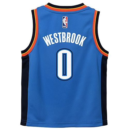 cdb12b6954a ... discount code for boys 4 7 oklahoma city thunder russell westbrook  replica jersey 082dc a34a6
