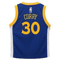 Boys 4-7 Golden State Warriors Road Stephen Curry Replica Jersey