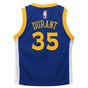 Boys 4-7 Golden State Warriors Road Kevin Durant Replica Jersey