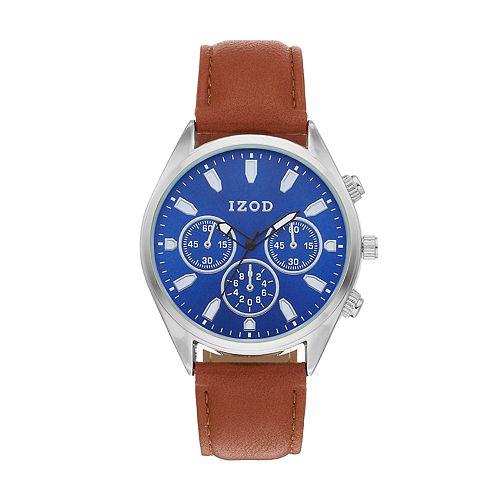 IZOD Men's Leather Watch - IZO8085KL